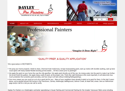 House Painting Contractor in Vancouver WA Dayley Pro Painters